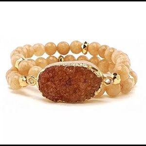 ❤️New Anthropologie Druzy Bracelet 🍁
